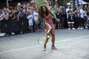ستارگان تنیس در خیابان