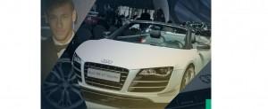 آئودری R8 جی تی به ارزش تقریبی 220 هزار یورو