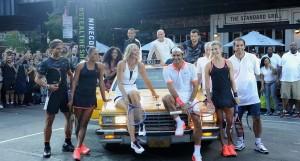تنیس ستاره ها در خیابان