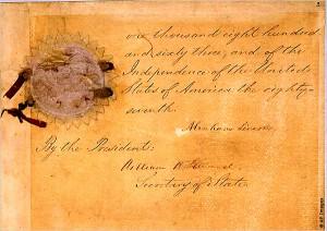 اعلامیه آزادی بردگان