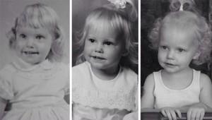 شباهت در سه نسل مادر برزگ و مادر و نوه کپی همن
