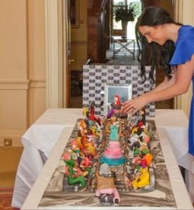 کیک تولد ۷۵ میلیون دلاری