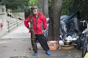 Delfine Vizearra» بیخانمان نیویورکی
