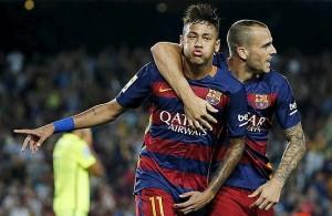 بارسلونا در مقابل لوانته