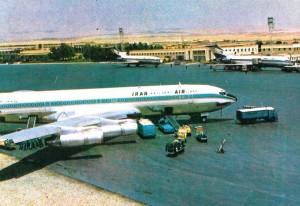فرودگاه مهرآباد 1350