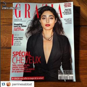 گلشیفته روی جلد مجله GRAZIA