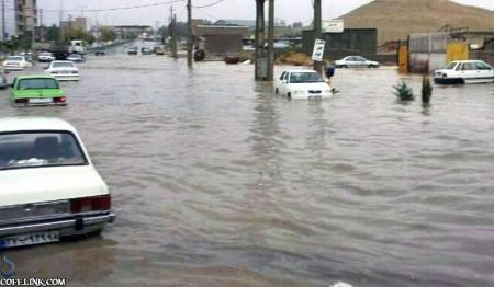عدم هدایت درست آب ناشی از باران سبب بالا آمدن 1 متری آب شد