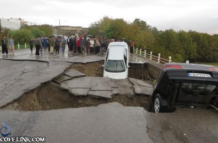 عدم زیر سازی مناسب جاده ها حوادث تلخی را در این سیل سبب شد