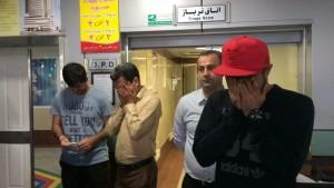 بازیکنان پرسپولیس در غم از دست دادن کاپیتان