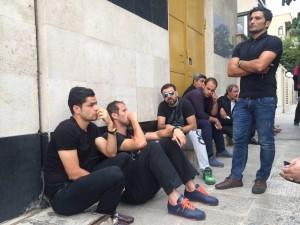 بازیکنانم پرسپولیس در شوک مرگ هادی نوروزی