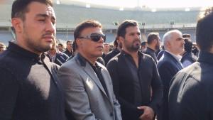 در مراسم تشییع هادی نوروزی استقلال و پرسپولیس معنی نداشت