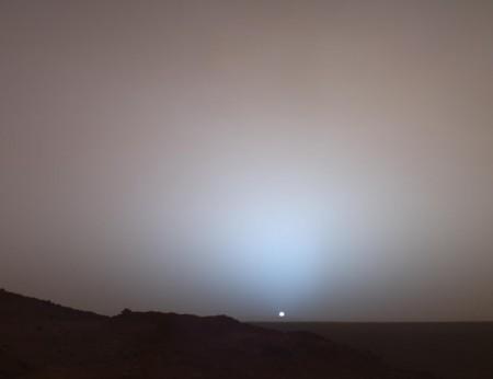 تصویر خورشید از مریخ