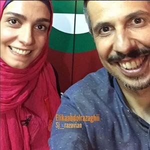 جواد رضویان و الیکا عبدالرزاقی