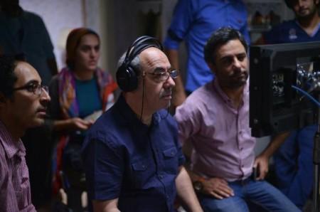 """کمال تبریزی در پشت صحنه فیلم سینمایی """"امکان مینا"""""""