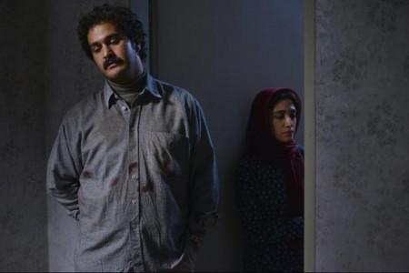 """میلاد کی مرام و مینا ساداتی در نمایی از فیلم سینمایی """"امکان مینا"""""""