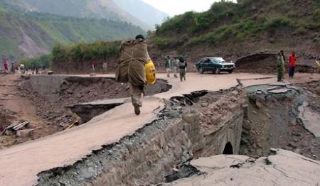 زلزله پاکستان