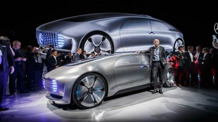 Mercedes-Benz F 015 Luxury