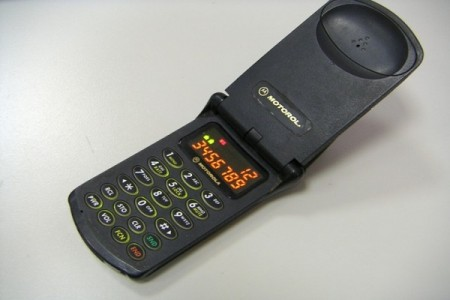 اولین تلفن همراه تاشو