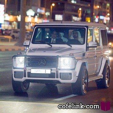 خودروی شخصی حاکم دبی