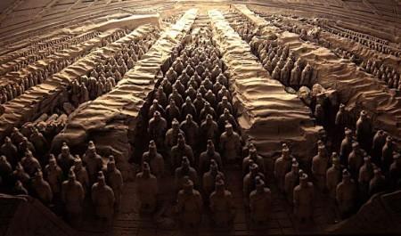 آرمگاه کین شی هانگ، چین