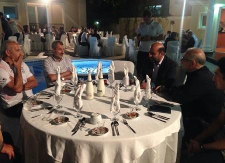 ضیافت شام مدیران تیم امید