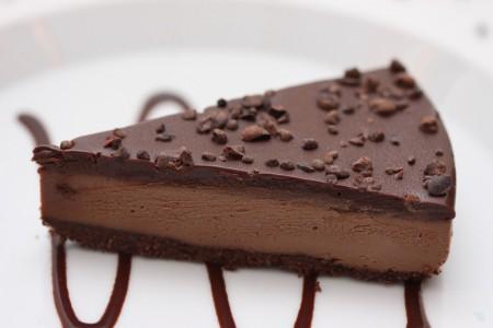 کیک موکا شکلاتی