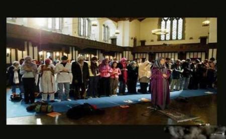 امام جماعت زن
