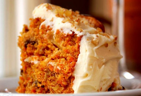 کیک هویج و آناناس