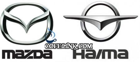لوگوی هایما که مانند سایر خودرو های بی کیفیت چینی کپی برداری است