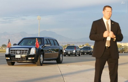 اتومبیل باراک اوباما