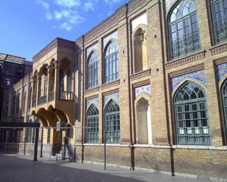 ساختمان دبیرستان فیروز بهرام