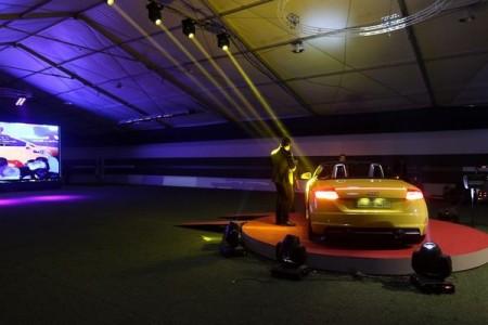 به دلیل محدودیت فضای سرپوشیده در فضای برج میلاد، برگزار کنندگان یک چادر اختصاصی ویژه این مراسم را با فضای وسیع برای نمایش 10 خودرو احداث کرده بودند.