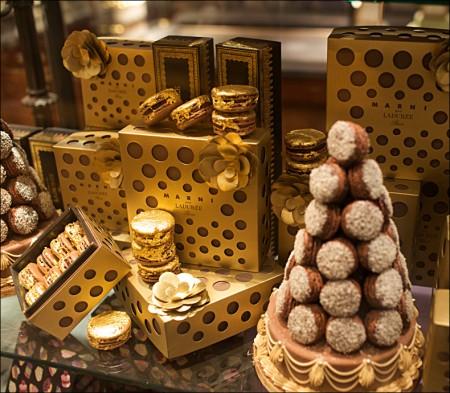 پکیج طلایی از شکلات