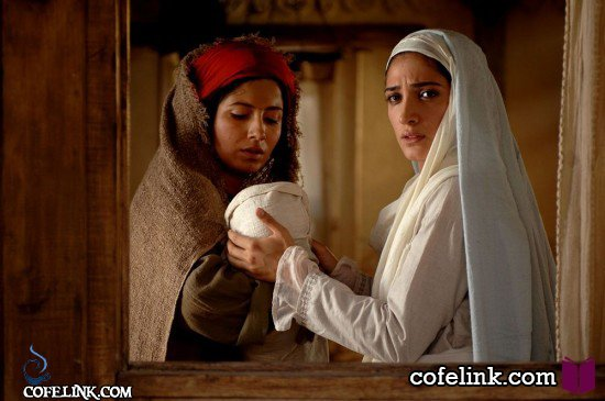 بهارک صالح نیا در نقش ثوبیه در فیلم محمد رسول الله