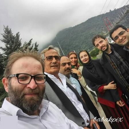 مجید مظری، نیکی مظفری، کتایون ریاحی و پسرش