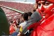 دختر ایرانی در استادیوم آزادیدختر ایرانی در استادیوم آزادی