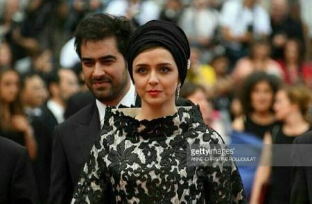ترانه علیدوستی و شهاب حسینی در مراسم اختتامیه فیلم کن