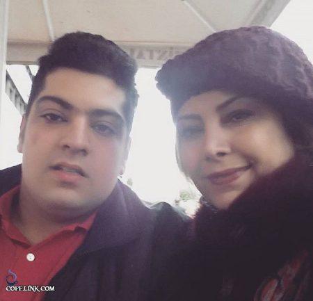 لادن طباطبایی و همسر سابقش سعید تهرانی