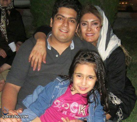 لادن طباطبایی و همسر سابقش سعید تهرانی و دخترش سها