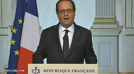 فرانسوا اولاند رییس جمهور فرانسه