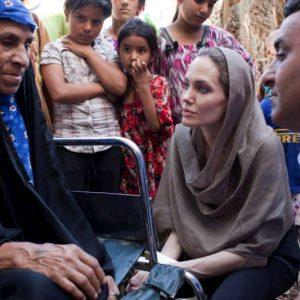 آنجلینا جولی در عراق