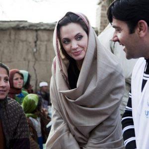 آنجلینا جولی در افغانستان