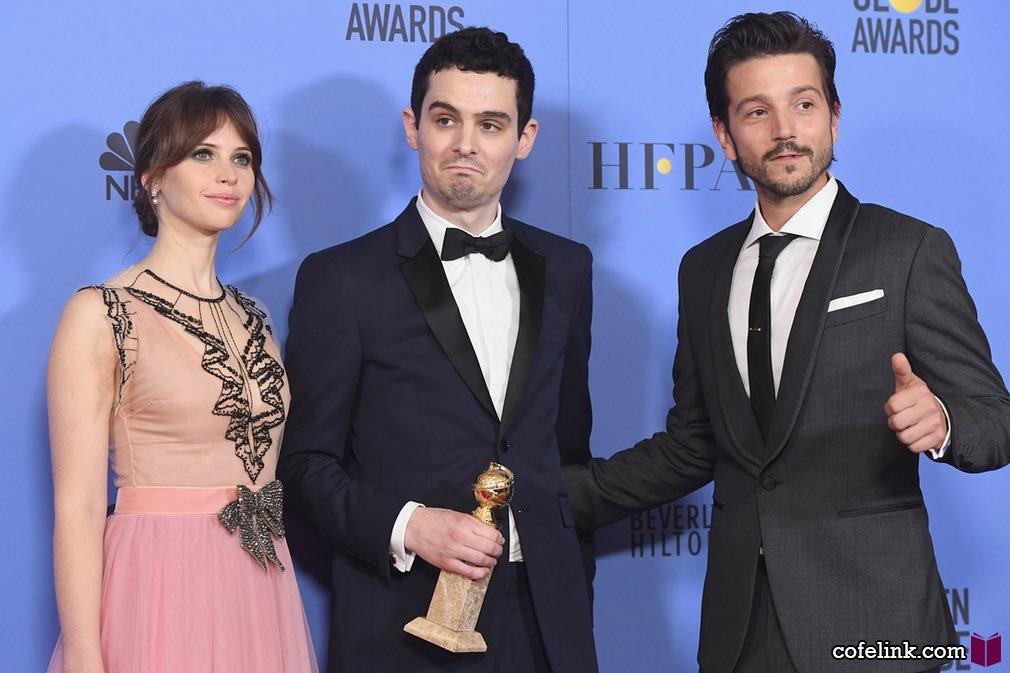 Damien Chazelle نویسنده و کارگردان لالا لند برنده بهترین فیلمنامه هم شد