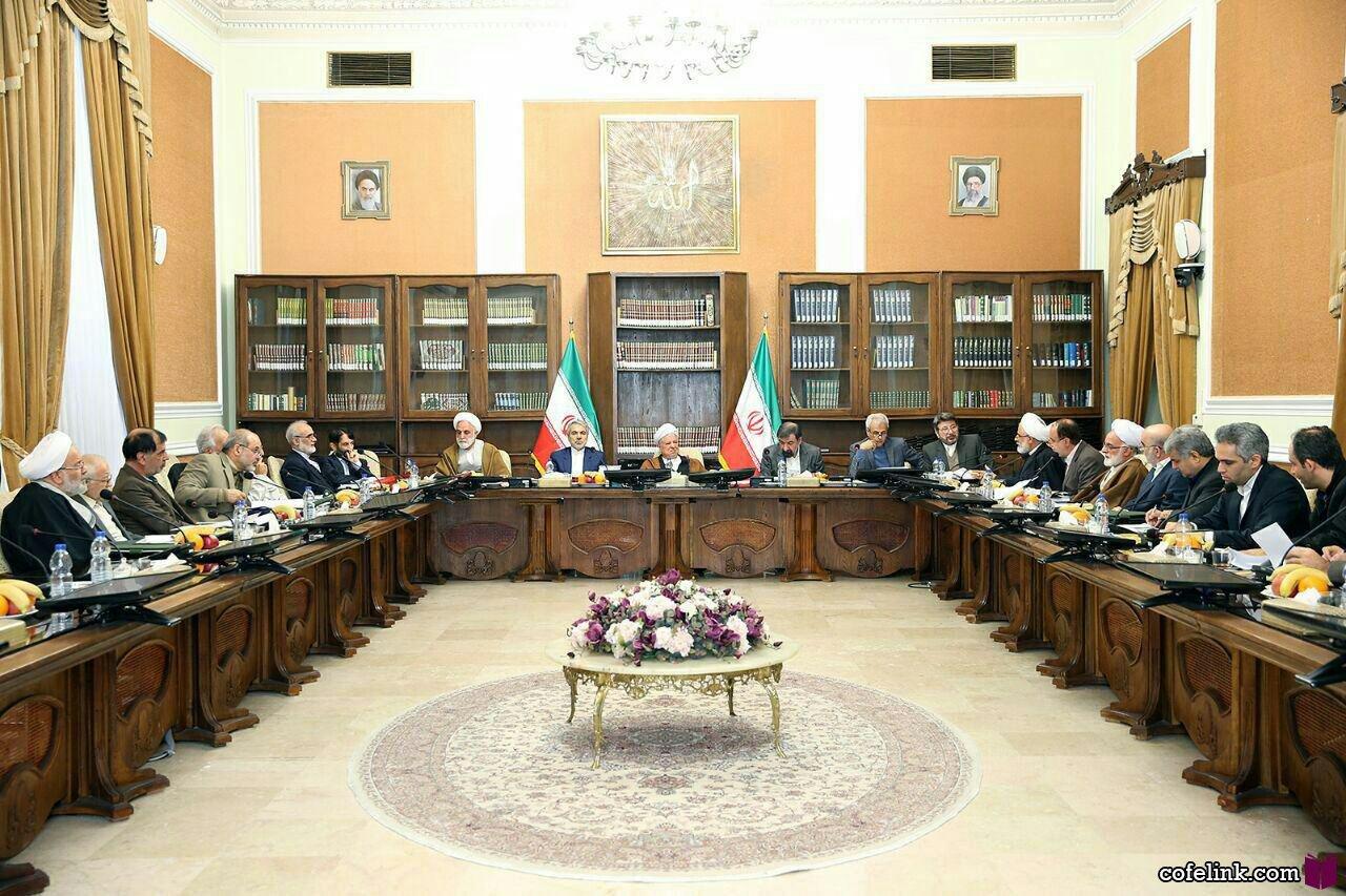 آخرین جلسه مجمع تشخیص مصلحت نظام به ریاست آیت الله هاشمی رفسنجانی