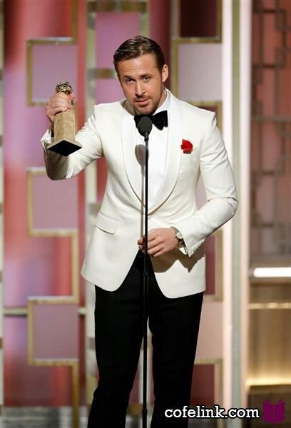 رایان گاسلینگ برنده بهترین بازیگر مرد موزیکال یا کمدی